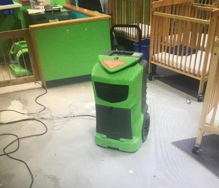 SERVPRO Responds Immediately to Flooded Daycare  After