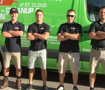 SERVPRO of St. Cloud crew!