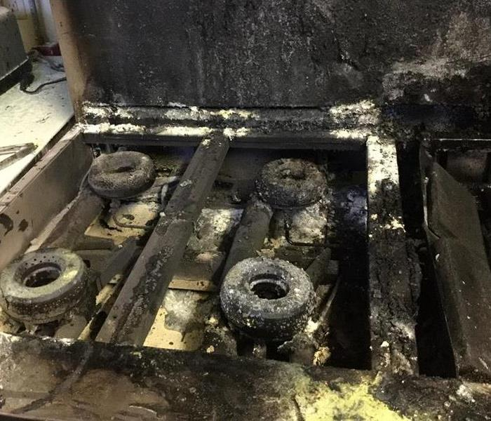 Restaurant grease fire causes damage!  SERVPRO of St. Cloud to the rescue!