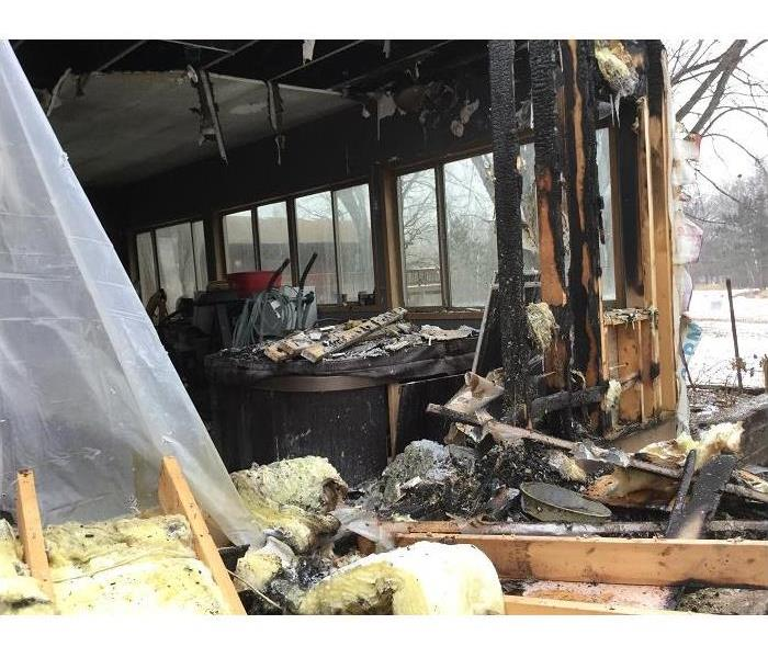Fire Damage? SERVPRO of St. Cloud is here to help!