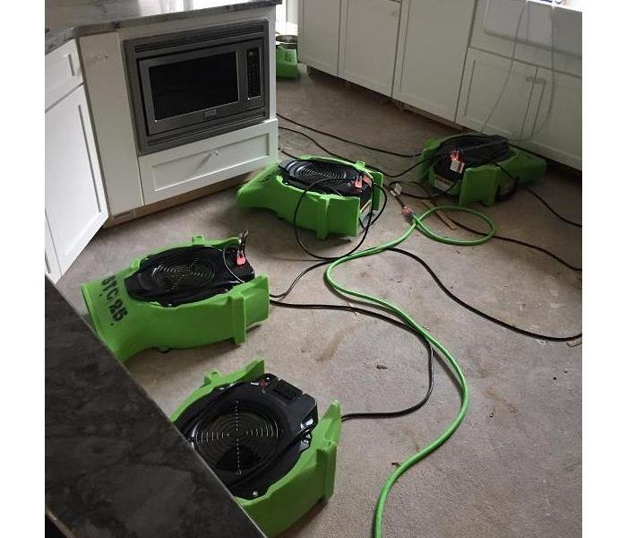 SERVPRO of St. Cloud cleaning water damage!