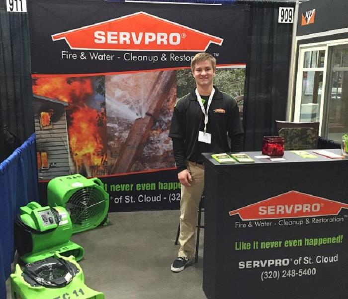 SERVPRO of St. Cloud and the CMBA Home Show was a success!