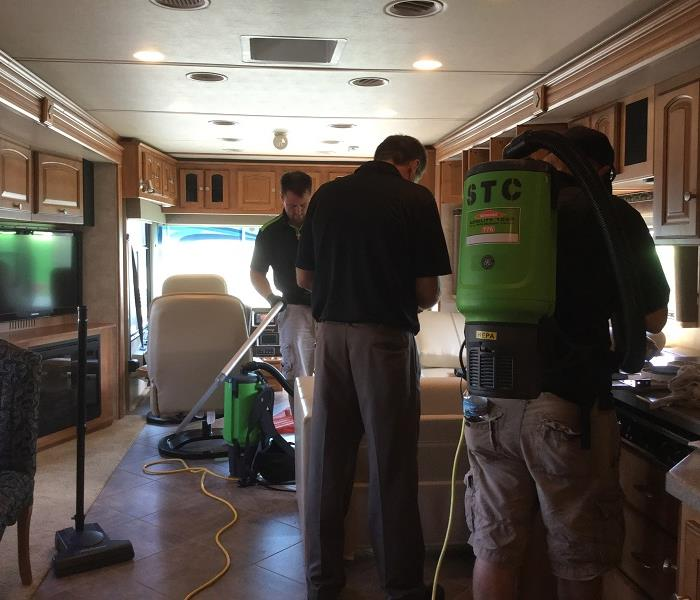 SERVPRO of St. Cloud cleans campers!