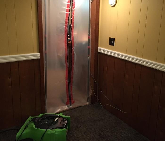 SERVPRO of St. Cloud drying your water damaged materials efficiently!