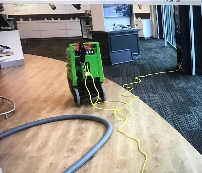 SERVPRO of St. Cloud works on water job at retail store