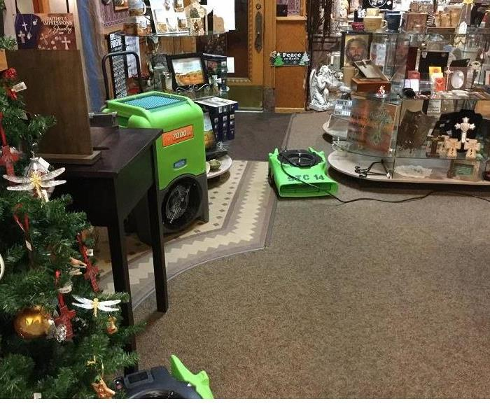 Local small business suffers water loss and SERVPRO of St. Cloud helps!