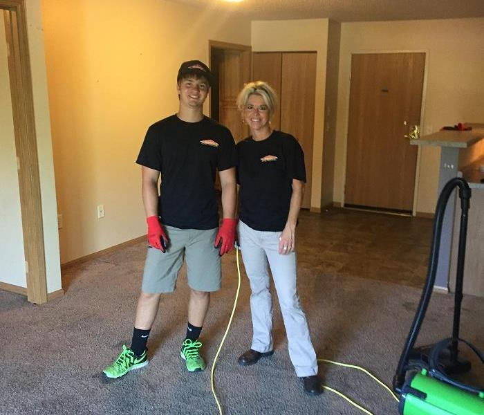 SERVPRO of St. Cloud loves to clean!  Leave the cleaning to us!