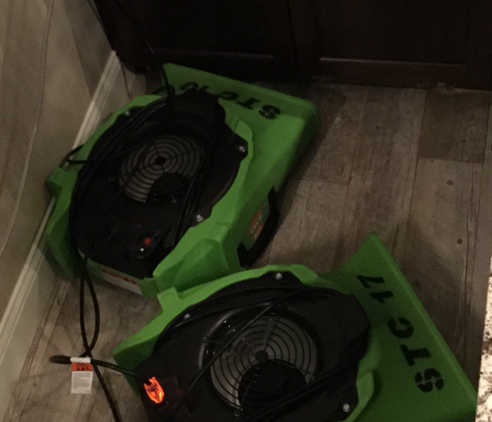SERVPRO of St. Cloud Removing Water From a Flooded Dishwasher