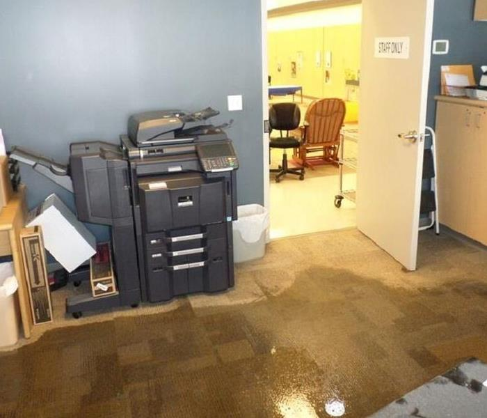 Commercial Commercial properties suffer water losses and SERVPRO of St. Cloud is here to help!