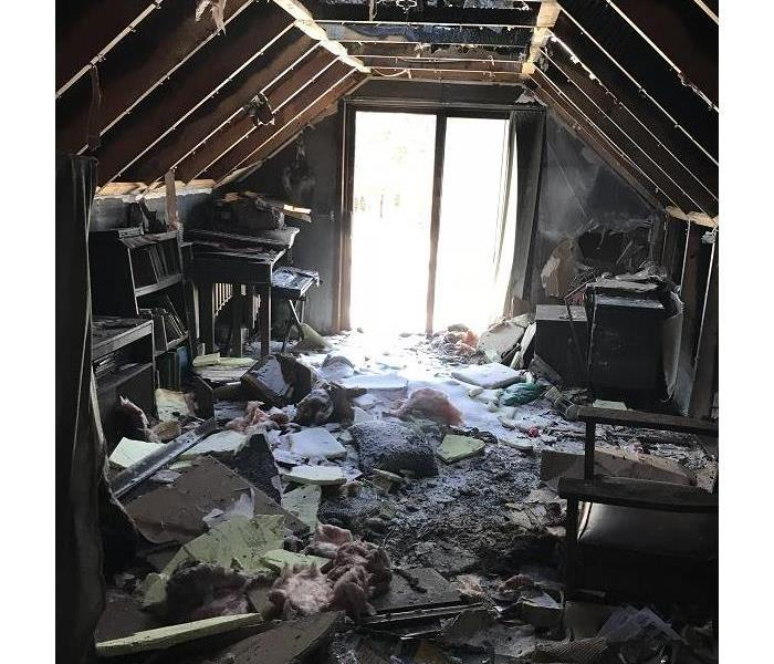 Fire Damage What to do if a fire burns your office or home?  Call SERVPRO of St. Cloud!